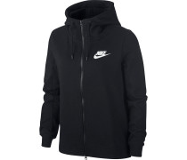 Sweatjacke 'Optic' schwarz