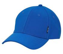Einfarbige Cap blau