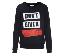 Sweatshirt 'graphic' schwarz