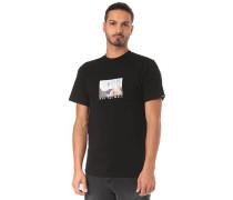 T-Shirt 'Divided' schwarz
