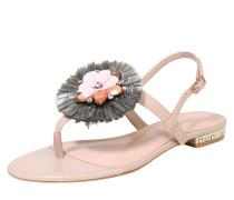 Sandale mit Zehensteg 'loa' rosa