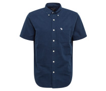 Hemd 'oxford' navy