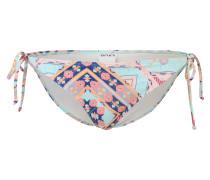 Bikinihose 'Aloha' türkis / rosa