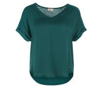 Blusenshirt smaragd