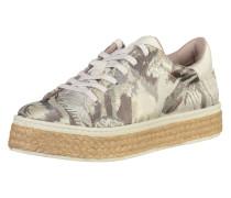 Sneakers Low beere / silber