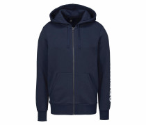Kapuzensweatjacke 'essentials Linear Full-Zip Hood Fleece'