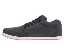 Sneaker basaltgrau / orangerot / weiß