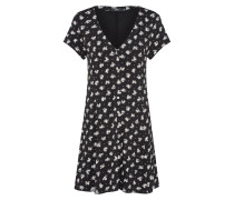 Kleid 'ella' schwarz / weiß