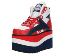 Sneaker navy / rot / weiß
