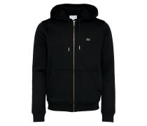 Sweatshirtjacke schwarz