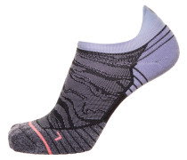 Socken helllila / dunkelpink / schwarz