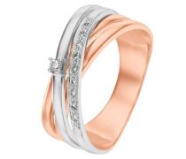 Ring '60015368' rosegold / silber