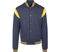 Jacket navy / gelb