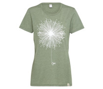 T-Shirt 'Blowball' grün