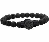 Armband 'P-Circle' schwarz