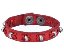 Armband rot / silber