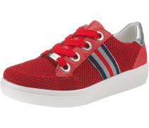 Sneakers 'New York' navy / rot / silber