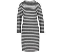 Kleid graumeliert / schwarzmeliert