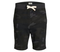 Sweatshorts graphit / khaki / schwarz