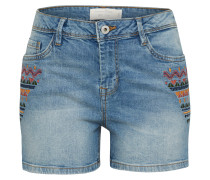 Short 'Cajsa' blue denim