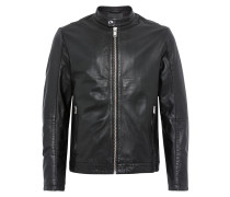 Lederjacke 'shnmiles Classic Leather Jacket'