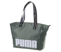 Shopper 'Prime Street' grasgrün / weiß