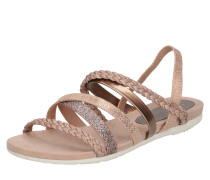 Sandalen 'Braided' bronze / rosé