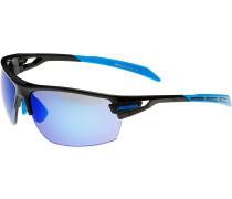 Tri-Scray Sportbrille blau / schwarz