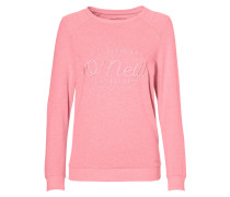 Essentials Logo Crew Sweatshirt rosa