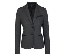 Eleganter Woll-Blazer graphit