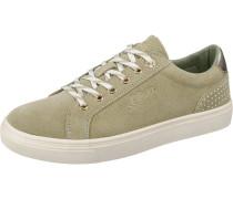 Sneaker beige / hellgrün