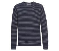 Pullover 'Alto' nachtblau / weiß