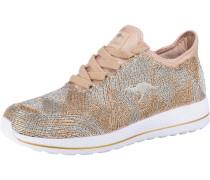 Sneaker gold / rosa / silber