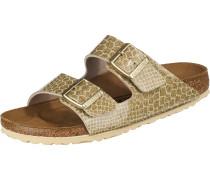 Pantolette 'Arizona' gold