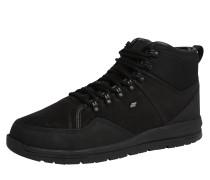 Gefütterter Sneaker 'berthar' schwarz