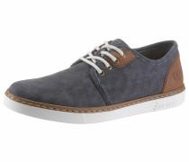 Sneaker taubenblau / braun