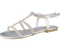 Sandale 'emira' silber