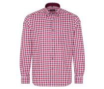 Hemd beere / rot / weiß