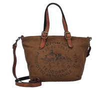 Handtasche 'Eucalipto' braun