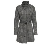 Mantel dunkelgrau / schwarz