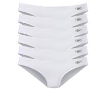 Bikinislips (6 Stck.) weiß