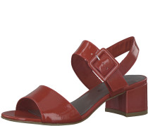Blockabsatz Sandale rot
