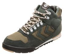 Sneaker hellbeige / grün / oliv / schwarz