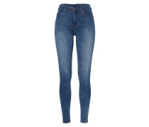 'Lexy' Skinny Jeans blue denim