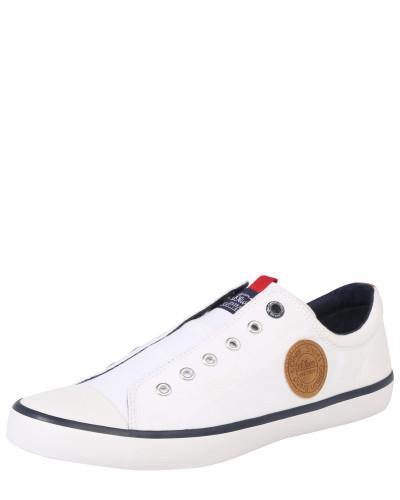 S.Oliver Herren Sneaker 'Dot' weiß Verkauf Extrem QgX2zJKOk2
