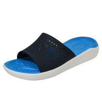 Pantoletten 'Lite Ride' nachtblau / hellblau