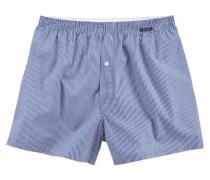 Boxershorts blau / weiß