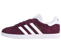 Sneaker 'Gazelle' blutrot / weiß
