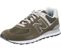 'ml574-Egb-D' Sneaker khaki / oliv
