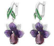 Ohrhaken 'Blume Iris'